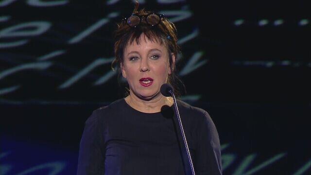 Olga Tokarczuk, laureatka nagrody Nike 2015