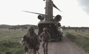 Chinooki nad przesmykiem suwalskim. Kolejny etap ćwiczeń NATO