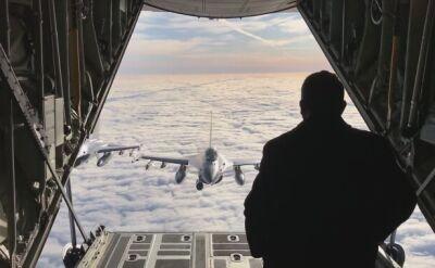 Bliskie spotkanie premiera z F-16