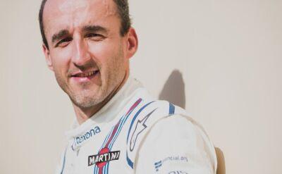 Kubica rezerwowym teamu Williams