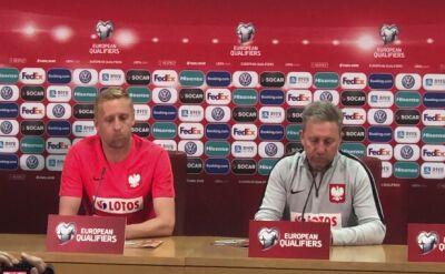 Jerzy Brzęczek przed meczem Polska - Macedonia Północna