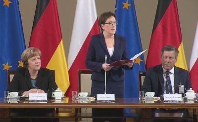 Ewa Kopacz przeczytała ostatnie przemówienie Władysława Bartoszewskiego