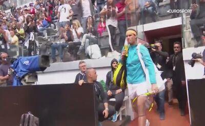 Rafael Nadal zameldował się w finale ATP Masters w Rzymie