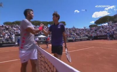 Verdasco pokonał Thiema w drugiej rundzie turnieju ATP w Rzymie
