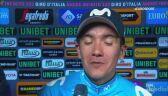 Richard Carapaz po 4. etapie Giro