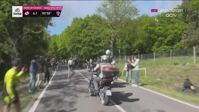 Mauro Schmid wygrał 11. etap Giro d'Italia