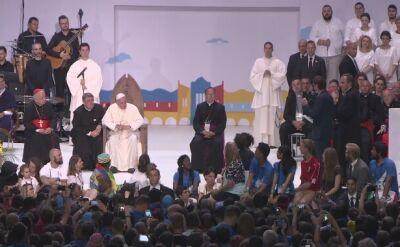 """""""Chciałbym po prostu żyć"""". Papież wzruszony słowami Maćka Cieśli"""