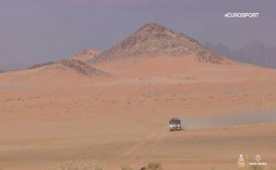 Podsumowanie 5. etapu Rajdu Dakar w kategorii ciężarówek