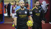 Sergio Aguero w meczu Aston Villa - Manchester City