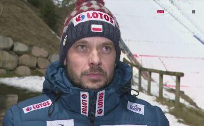 Rozmowa z Michalem Doleżalem po kwalifikacjach w Predazzo