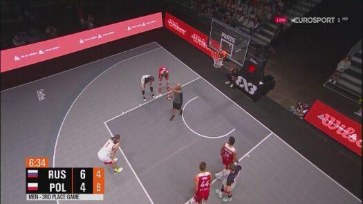 Polacy odrabiają straty w meczu z Rosją o brąz ME w koszykówce 3x3