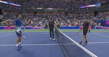 Skrót meczu Djokovic - Brooksby w 4. rundzie US Open