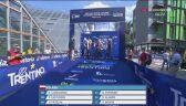 Start polskiej sztafety mieszanej na kolarskich mistrzostwach Europy