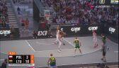 Kryzys Polaków w meczu z Litwą w półfinale ME w koszykówce 3x3