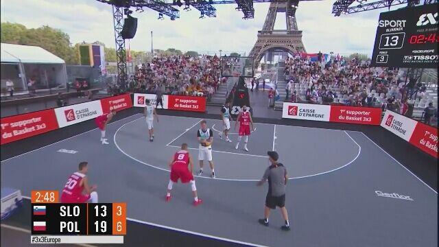Polska wygrała ze Słowenią w ME koszykarzy 3x3
