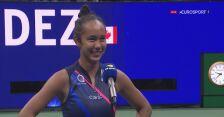 Rozmowa z Fernandez po wygranej w półfinale US Open