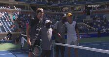 Skrót meczu Zverev - Sinner w 4. rundzie US Open