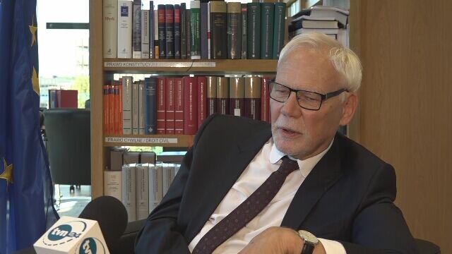 Safjan: wierzę, że orzecznictwo Trybunału będzie miało wpływ na porządek prawny