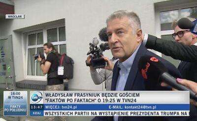 """""""Myślę, że mnie będą nosić na rekach za to, co zrobiłem dla Polski"""""""