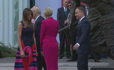 Donald Trump spotkał się z kombatantami