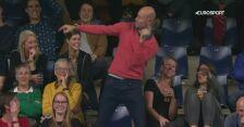 Boskie ruchy. Kibic gwiazdą podczas ćwierćfinału turnieju ATP w Antwerpii