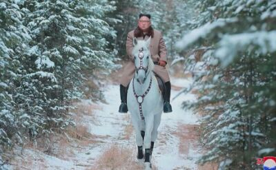 Kim Dzong Un pokazał zdjęcia z wyprawy na szczyt góry Pektu-san