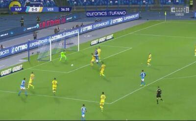 Napoli - Hellas. Dwa gole Milika