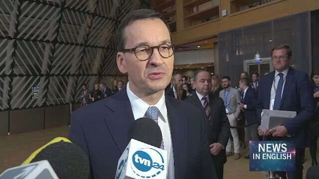 Mateusz Morawiecki: Poland will not accept the Finnish EU presidency's proposals regarding the post-2020 EU budget