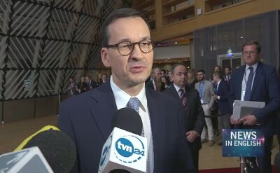Mateusz Morawiecki, Polish PM, against Finnish proposal for EU budget