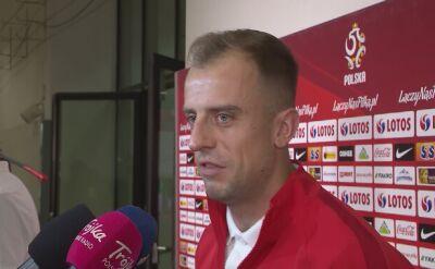 Grosicki po meczu z Macedonią