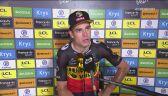 Wout Van Aaert po 11. etapie Tour de France