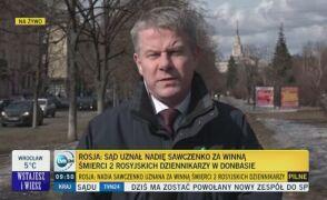 Ogłaszanie wyroku w sprawie Nadiji Sawczenko