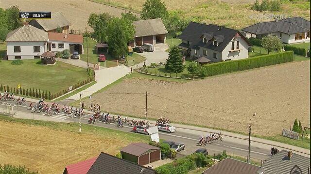 Minuta ciszy na trasie 4. etapu Tour de Pologne