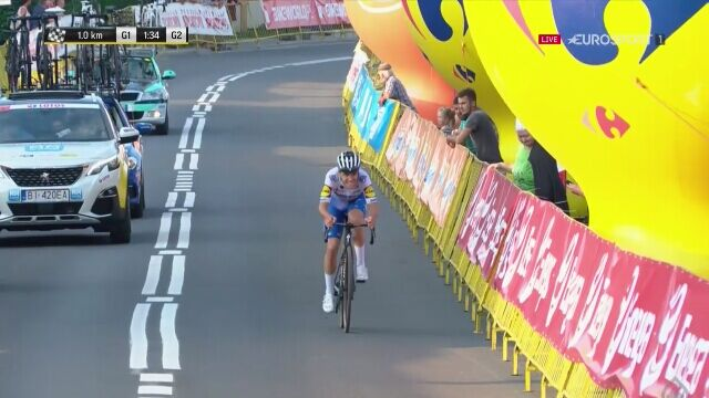 Remco Evenepoel wygrał 4. etap Tour de Pologne