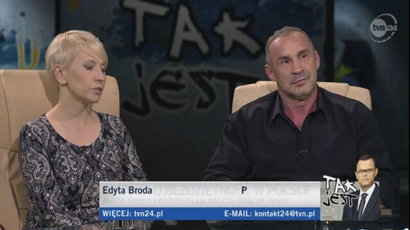 Edyta Broda i Przemysław Saleta w Tak Jest. Bezdzietność z wyboru
