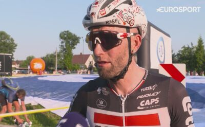 Tomasz Marczyński po 2. etapie Tour de Pologne