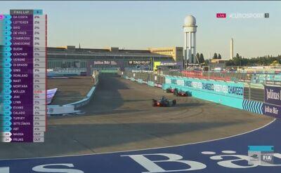 Da Costa wygrał wyścig Formuły E w Berlinie