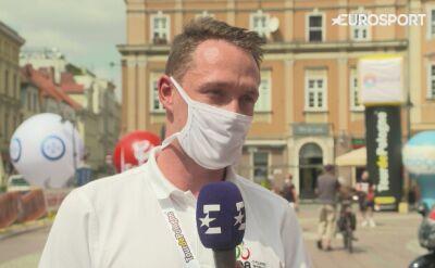 Jarosław Marycz o wydarzeniach na mecie 1. etapu TDP