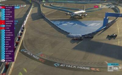 Formuła E: Atak Vandoorne'a podczas 7. wyścigu o E-Prix w Berlinie