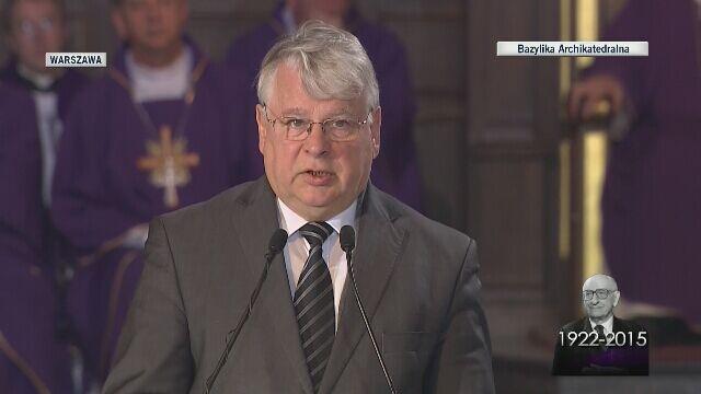 Borusewicz: Bartoszewski zawsze był po stronie prawdy, Polski, porozumienia