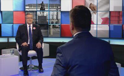 """""""Debata. Czas Decyzji"""". Zobacz całą debatę z Bronisławem Komorowskim"""