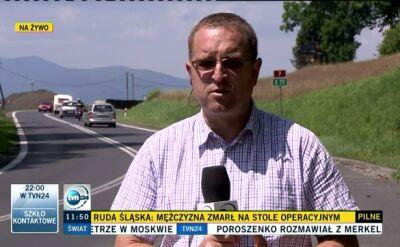 Most i rozjazd usprawnią przejazd Zakopianką