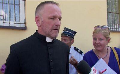 Ks. Lemański w Jasienicy: mam nadzieję, że jeszcze kiedyś odprawię tu mszę