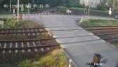 Pociąg zmiótł samochód z przejazdu