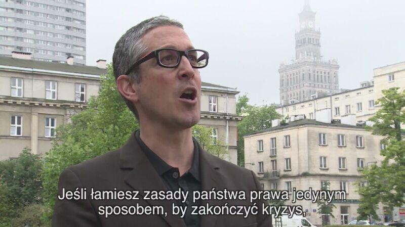 Laurent Pech: Polska powinna wycofać się ustaw dotyczących sądownictwa