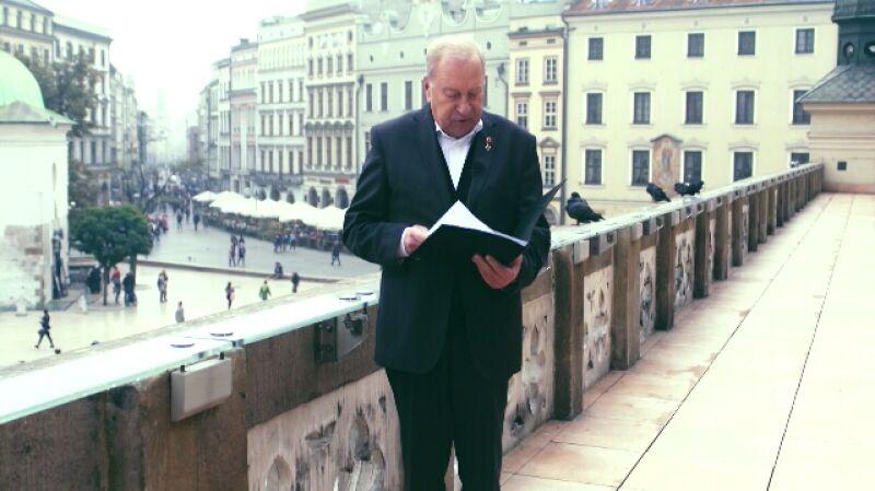 Życzenia dla Polski. Jerzy Stuhr czyta życzenia Kejt