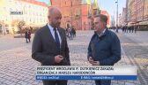 Jacek Sutryk wierzy, że policja zadba o bezpieczeństwo 11 listopada