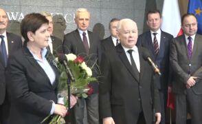 Kaczyński: jestem bardzo dumny z premier Szydło