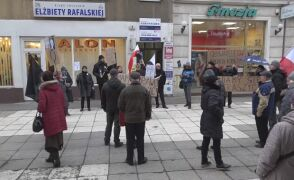 Protestowano też w Gorzowie Wielkopolskim