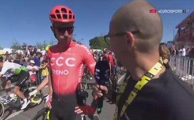 Wiśniowski po 4. etapie Tour de France